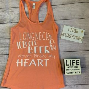 Tops - Luke combs lyrics tank top - country concert -💯🤠